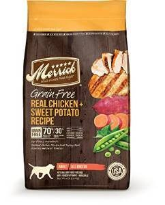 Merrick Grain Free Dry Dog Food (chicken)