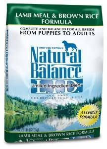 Natural Balance Limited Ingredient Diets Lamb Meal and Brown Rice