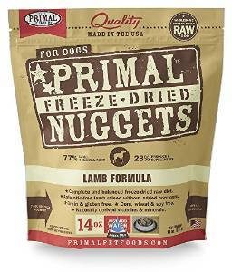 Primal Pet Foods Canine Lamb Formula (Freeze-Dried)