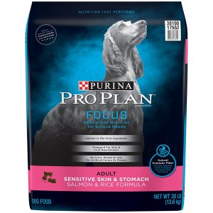 Purina Pro Plan Focus Sensitive Skin and Stomach Dry Dog Food Salmon and Rice Formula