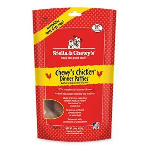 Stella % Chewy's Duck Goose Dinner Patties Freeze-Dried Dog Food