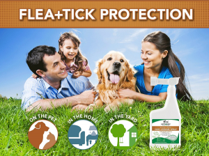Vet's Best Flea & Tick Yard & Kennel Spray
